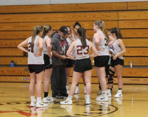 Girl's Basketball looks hopeful at Scrimmage