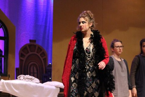 Miss Hannigan played by Micaela Crochunis