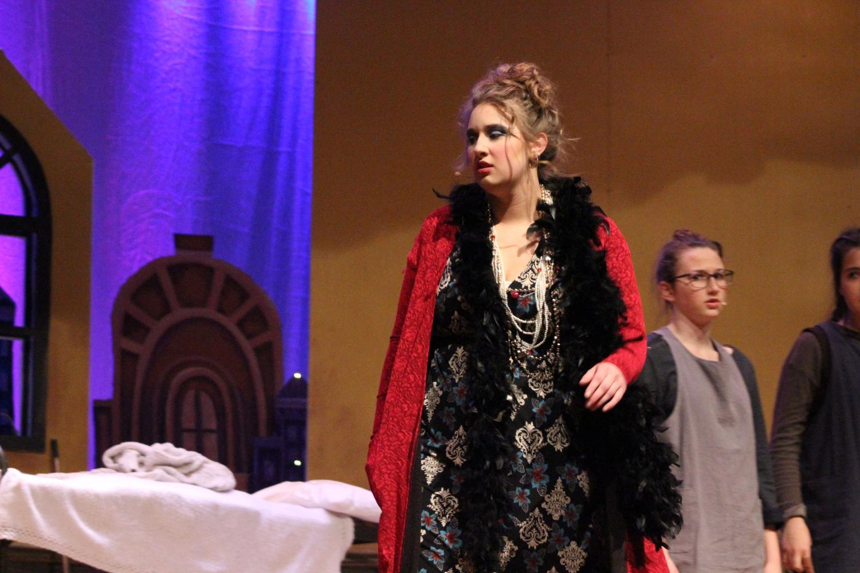 Miss Hannigan played by Micaela Crochunis