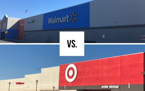 Walmart in Saint Clair,PA vs. Target in Wyomissing,PA