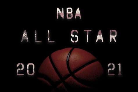 An image of the NBA All Star game on Sunday March 7, 2021.
