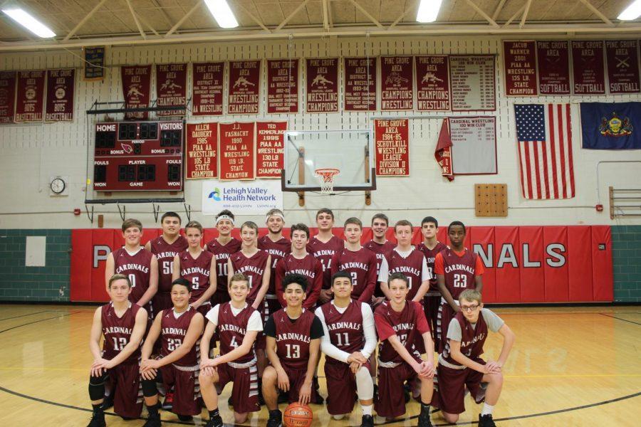 2018-19 Boys Basketball Team