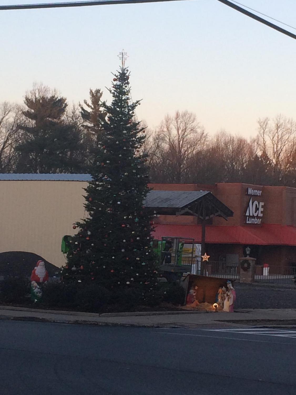 Pine Grove Community Christmas Tree.