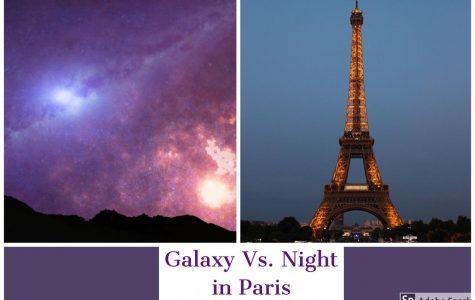 Galaxy Vs. Night in Paris