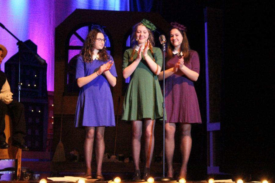 The Boylan Sisters played by Eva, Miah Turner and Karli Boyer.