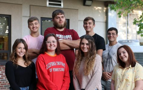 Homecoming Court Contestants Compete for Crowns