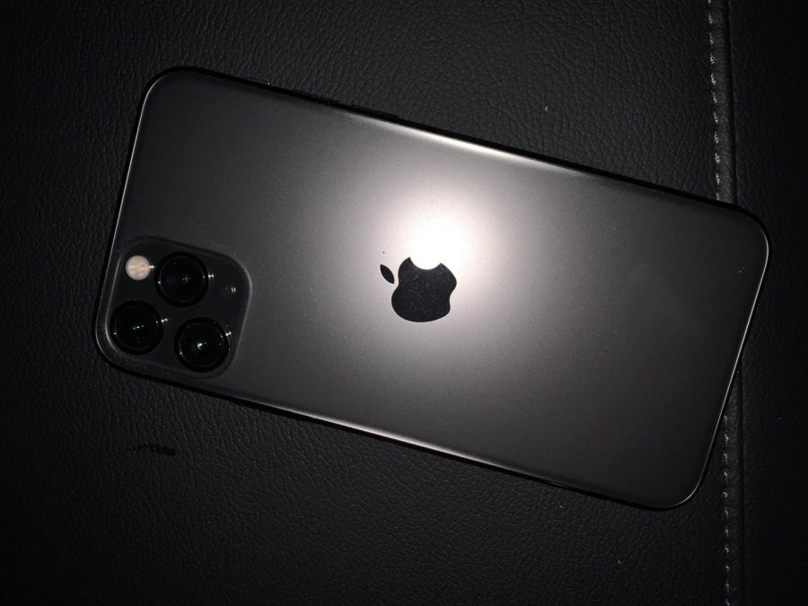The iPhone 11 Pro.