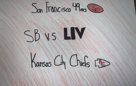 Image of Kansas City Chiefs and San Fransisco 49ers logo.
