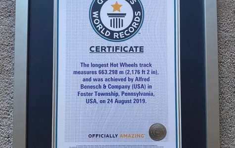 Car Track Zooms Its Way Into Guiness World Record