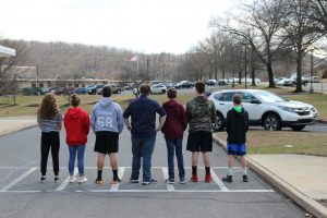8th graders looking to the future
