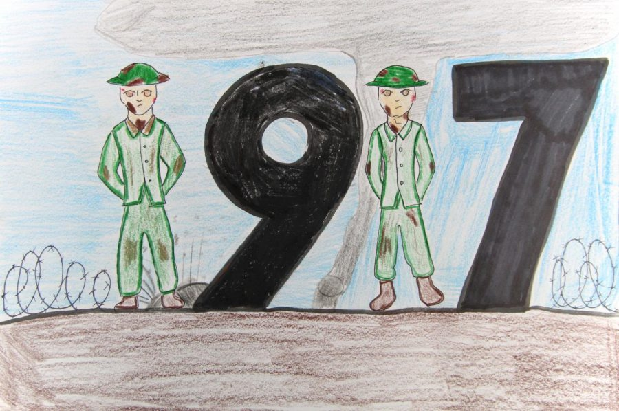 The Movie 1917 is about two wold war 1 soldiers.