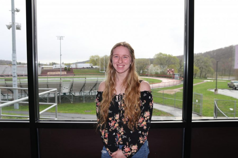 December 2020 Senior of the Month, McKenna LeVan.