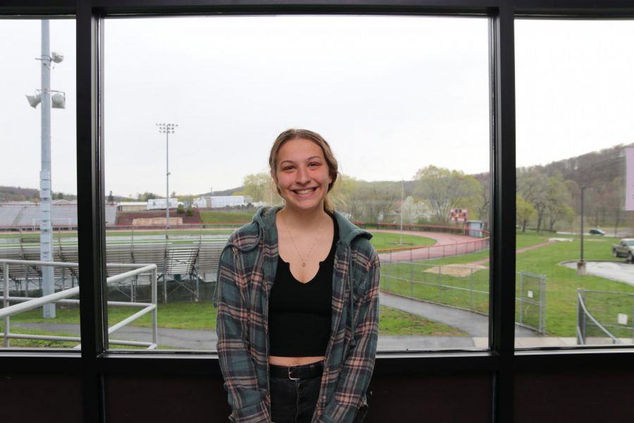 March 2021 Senior of the Month, Kira Shollenberger.