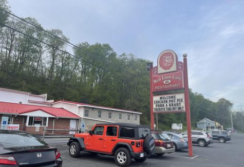 A photograph of Red Lion Café, located in Pine Grove, PA.