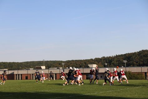 JV Football Helps Varsity Program