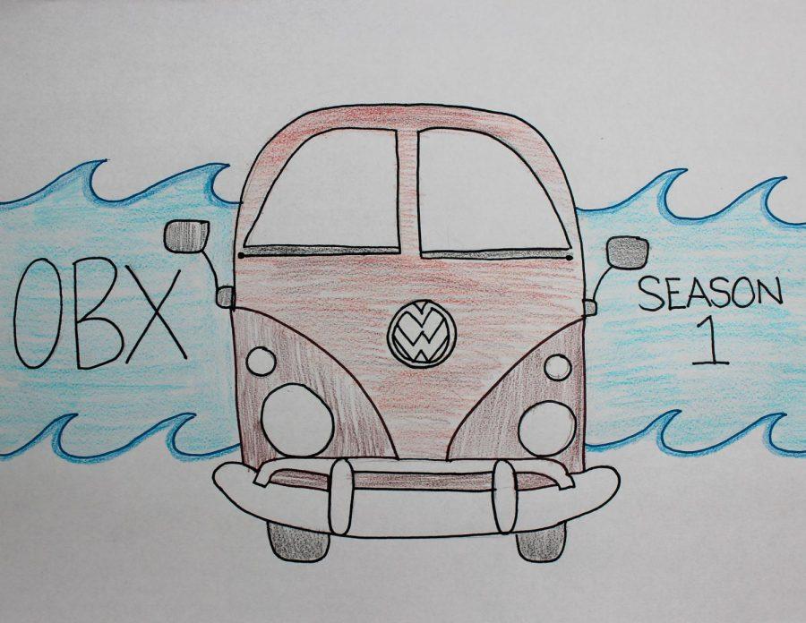 John B.s van representing Outer Banks Season 1.